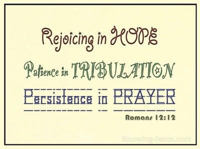 Romans 12:12 Rejoice in Hope (lemon)