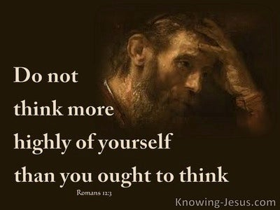 Romans 12:3 A Measure Of Faith (brown)