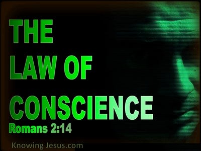 Romans 2:14 Gentiles Are A Law Unto Themselves (green)