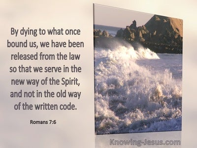 Romans 7:6 That We May Serve In The New Way Of The Spirit (windows)01:24