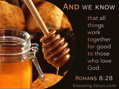 Romans 8:28 All Things Work Together For Good To Those Who Love God (utmost)12:18