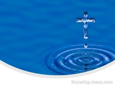 Romans 8:37 More Than Conquerors (blue)