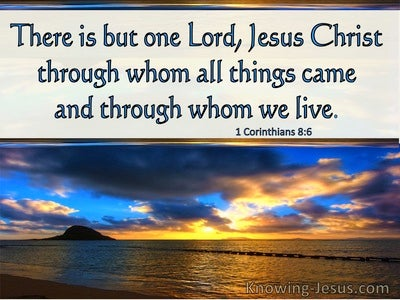 1 Corinthians 8:6 There is One Lord Jesus Christ Through All Things Came (windows)04:29