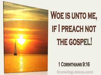 1 Corinthians 9:16 Woe Is Me If I Preach Not The Gospel (utmost)02:02