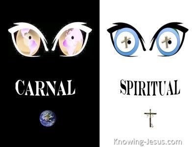 1 Corinthians 3:3 Are You Not Still Carnal (black)