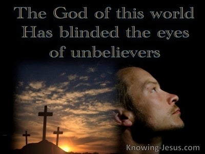 2 Corinthians 4:4 Blinded Minds Of Unbelievers (black)
