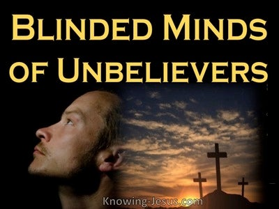 2 Corinthians 4:4 Blinded Minds (yellow)