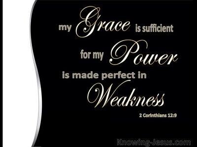 2 Corinthians 12:9 WHITE  : Edwardian Script a2 Corinthians 12:9 WHITE  : Edwardian Script