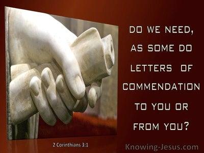 48 Bible verses about Commendation