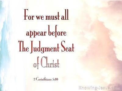 2 Corinthians 5:10 Judgement Seat Of Christ (pink)