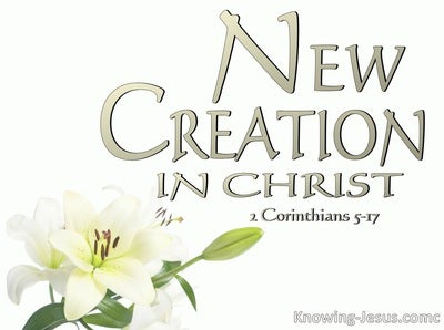 2 Corinthians 5:17 Old Things Are Passed Away (sage)