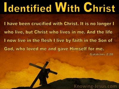 Crucified With Christ (devotional) (yellow) - Galatians 2:20