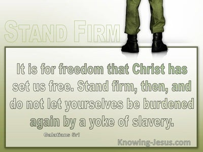 Galatians 5:1 It Is For Freedom That Christ Has Set Us Free (windows)04:06