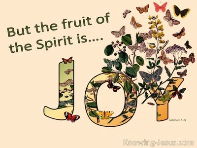 Galatians 5:22 The Fruit Of The Spirit Is Joy (orange)