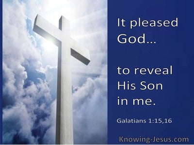 Galatians 1:16 It Pleased God To Reveal His Son In Me (windows)01:28