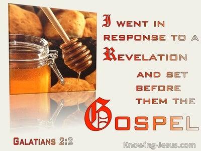 Galatians 2:2 Set Before Them The Gospel (windows)10:15