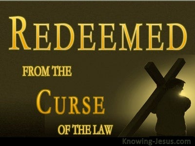 Galatians 3:10 Redeemed From The Curse Of The Law (gold)