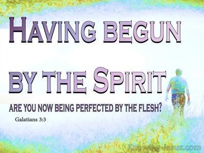 Galatians 3:3 Are You So Foolish (blue)