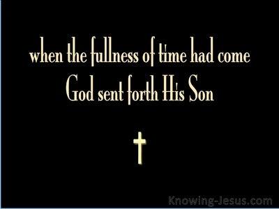 Galatians 4:4 A Time to Die (devotional)10:31 (black)
