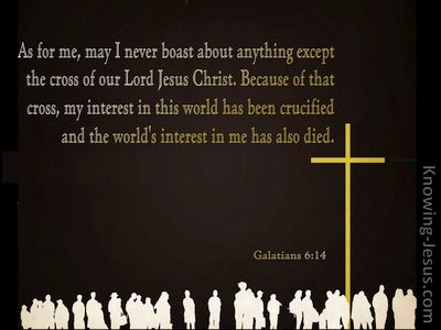 Galatians 6:14 May I Never Boast Except In The Cross Of Our Lord Jesus Christ (windows)01:11
