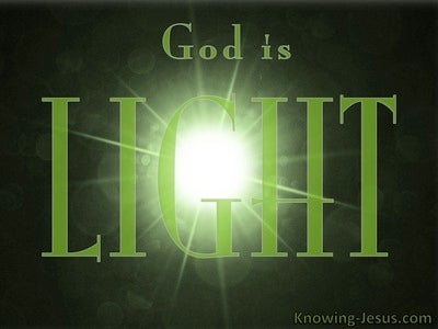 Ephesians 1:18 God Is Light (green)