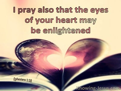 Ephesians 1:18 That Your Heart Many Be Enlightened (windows)12:13