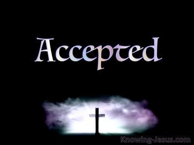 Ephesians 1:6 Eternal Acceptance (devotional)03:24 (black)