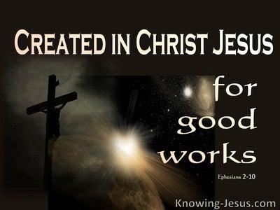 Ephesians 2:10 We Are His Workmanship (beige)