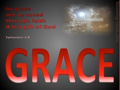Ephesians 2:8 Salvation By Grace Through Faith (devotional)