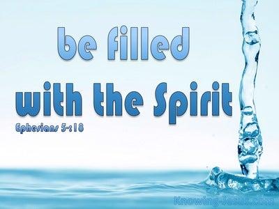 Ephesians 5:18 Indwelling Power (devotional)12:20 (blue)