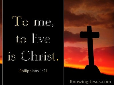 Philippians 1:21 To Me To Live Is Christ (windows)01:26