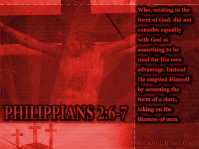 The Nature of Christ (devotional) (black) - Philippians 2:6