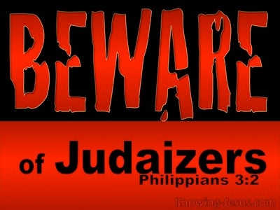 Philippians 3:2 Beware Of Dogs, Evil Workers and  False Circumcism (black)