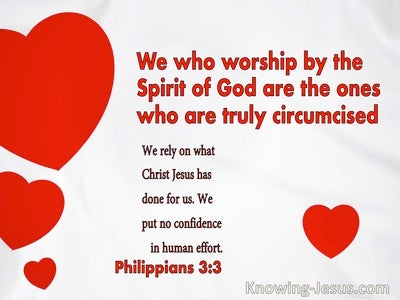 Philippians 3:3 We Who Worship By The Spirit Of God Are The Ones Who Are Truly Circumcised (windows)09:06