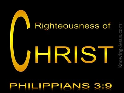 Philippians 3:9  The Righteousness That Comes From God (yellow)