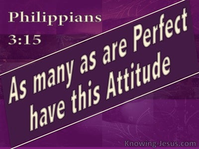 15 Bible verses about Perfection