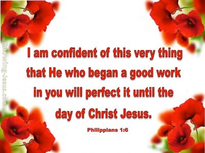 Philippians 1:6 This One Thing (devotional)05:25 (red)