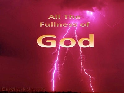 All The Fullness Of God (devotional) (red)