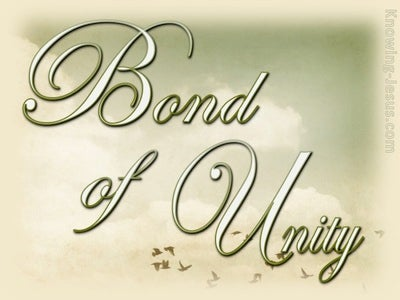 Bond of Unity (devotional) (sage) - Colossians 3:14