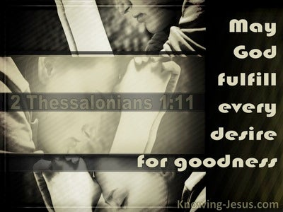 2 Thessalonians 1:11 Count You Worthy Of Your Calling (gray)
