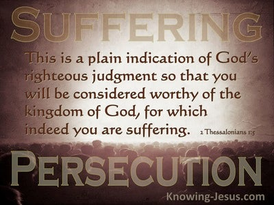 2 Thessalonians 1:5 That You Will Be Considered Worthy (brown)