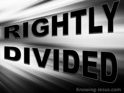 Rightly Divided (devotional)