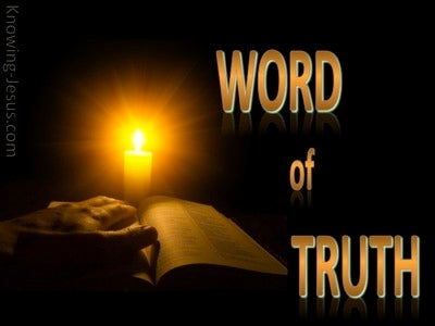 2 Corinthians 6:7 In the Word Of Truth And Power Of God (brown)