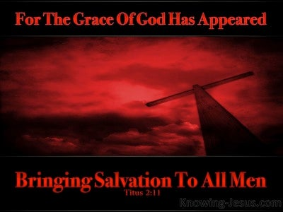 The Much-More Grace of God (devotional) (red) - Titus 2:11