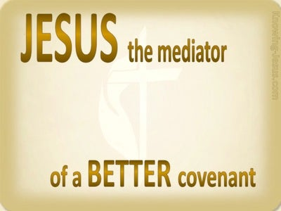 Hebrews 12:24 The Better Covenant (yellow)
