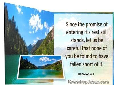Hebrews 4:1 Let Us Be Careful That None Fall Short (windows)01:21
