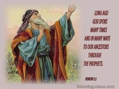 Hebrews 1:1 Long Ago God Spoke (red)