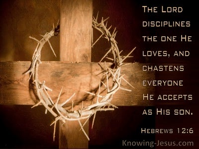 Hebrews 12:6 The Lord Disciplines The One He Loves (windows)04:13