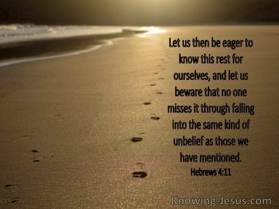 Hebrews 4:11 Let Us Be Eger To Know This Rest For Ourselves (windows)07:11