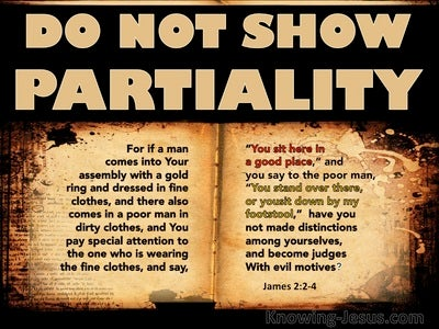 James 2:2 : 4 Do Not Make Distinctions Among Yourselves (beige)